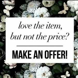No price is firm!! Send me your offers ❤️❤️❤️